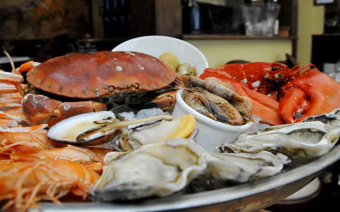 Le baligan sa spécialité en poissons et en fruit de mer