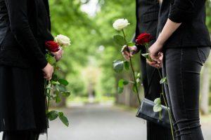 Des coutumes pour les funérailles