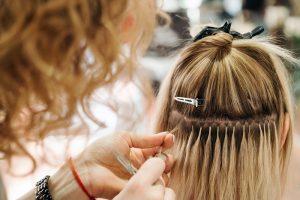 Les extensions de cheveux