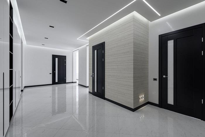 Les types de portes